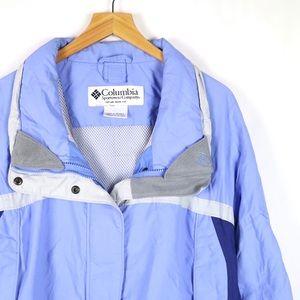 Columbia periwinkle winter snow coat size XXL